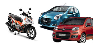 Rent a car or motorcycle in Paros